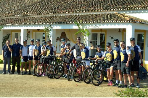 Biking nas Vinhas do Alentejo