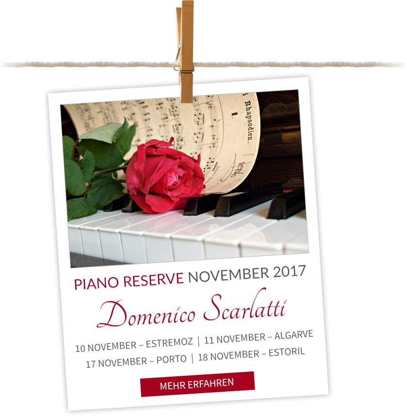 Piano Reserve November 2017 - Domenico Scarlatti